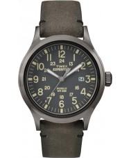Timex TW4B01700 Mens spedizione analogico elevato orologio marrone