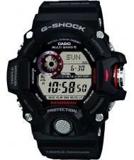 Casio GW-9400-1ER Mens premio G-SHOCK Radio sensore tripla controllato orologio ad energia solare