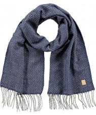 Barts 2918003 Mens Carson sciarpa blu di Delft