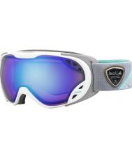 Bolle 21460 Duchessa bianco e grigio - occhiali da sci aurora