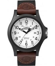 Timex TW4B08200 orologio cinturino in tessuto marrone Mens spedizione