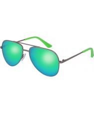 Puma Bambini pj0010s occhiali da sole verdi rutenio
