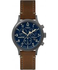 Timex TW4B09000 orologio cinturino in pelle marrone Mens spedizione
