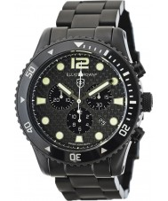 Elliot Brown 929-002-B03 orologio cronografo nero in fibra di carbonio Mens bloxworth