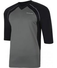 Dare2b Gli uomini si sono composti in maglietta nera maglietta nera