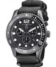 Elliot Brown 929-001-N02 Mens bloxworth orologio cronografo cinturino in tessuto nero