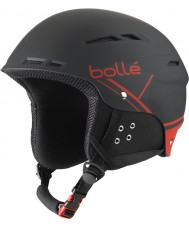 Bolle 31211 B-fun morbida casco da sci nero e rosso - 54-58cm