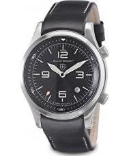Elliot Brown 202-012-L02 edizione Mens soccorso alpino Canford orologio nero con l'aggiunta di balistico cinturino in nylon nero intrecciato