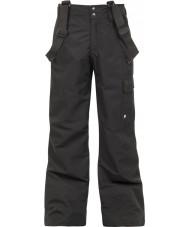 Protest 4810100-290-116 Ragazzi denysy veri neri pantaloni da neve - 6 anni (116 cm)