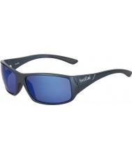 Bolle Kingsnake opaco blu polarizzata occhiali da sole blu off-shore