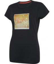 Dare2b Le donne prendono due t-shirt nere