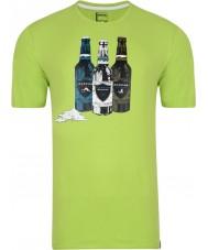 Dare2b Maglietta verde calce in bottiglia da uomo