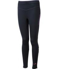 Ronhill RH-001901R292-16 Delle donne Vizion fluo nero rosa calzamaglia di stirata - dimensione uk 16 (XL)