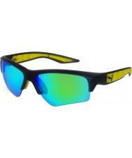 Puma Mens pu0056s occhiali da sole verde grigio