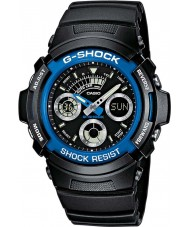 Casio AW-591-2AER Mens G-SHOCK orologio sportivo cronografo nero