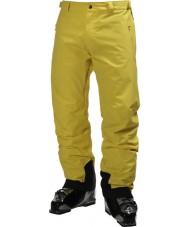 Helly Hansen Pantaloni di sci gialli leggendari degli uomini