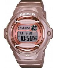 Casio BG-169G-4ER Signore Baby-G Telememo tempo del mondo orologio cinturino in resina rosa