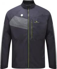 Ronhill RH-001895R848-L Mens Vizion fluo nero giacca splendore giallo - taglia l