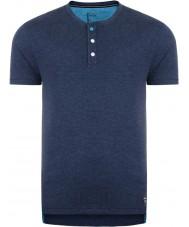 Dare2b DMT326-0D750-S Pulsante Mens fino peacoat marna t-shirt - formato s