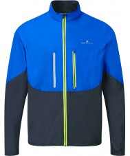 Ronhill RH-001893R424-S Mens anticipo cobalto giacca Windlite nero - dimensione s