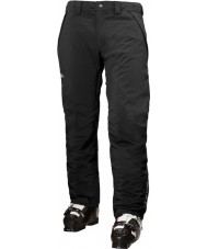 Helly Hansen Pantaloni da sci neri isolati in velocità da uomo