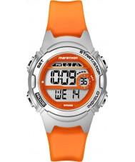 Timex TW5K96800 Donne maratona medie dimensioni orologio cronografo cinturino in resina arancione