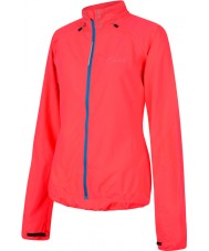 Dare2b Ladies carapace ciclo in neon rosa windshell