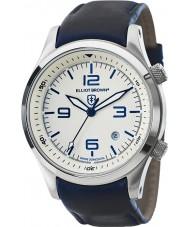 Elliot Brown 202-001-L06 Mens Canford blu orologio cinturino in pelle