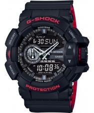 Casio GA-400HR-1AER Mens g-shock tempo del mondo orologio combi nero