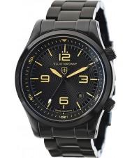 Elliot Brown 202-002-B04 Mens Canford IP nero orologio da polso in acciaio