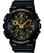 Casio GA-100CF-1A9ER Mens G-SHOCK orologio cronografo nero