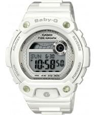 Casio BLX-100-7ER Signore Baby-G marea grafico orologio bianco