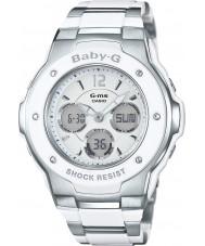 Casio MSG-300C-7B3ER Signore Baby-G tempo del mondo orologio combi due toni