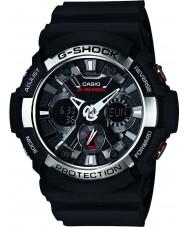 Casio GA-200-1AER Mens g-shock tempo del mondo orologio cronografo nero