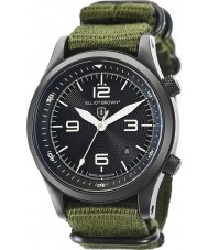 Elliot Brown 202-004-N01 Mens Canford orologio verde cinturino in tessuto