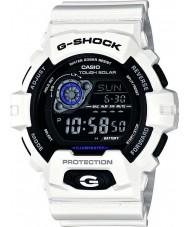 Casio GR-8900A-7ER bianco orologio ad energia solare Mens g-shock tempo del mondo