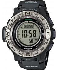 Casio PRW-3500-1ER Mens PRO TREK orologio Lejia sensore tripla cerro