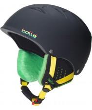 Bolle 30672 morbido casco da sci rasta nero libero-B - 53-57cm