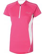 Dare2b Le donne feliciano la maglietta rosa elettrica