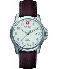 Swiss Military 6-4231-04-001 Mens soldato Swiss Watch cinturino in pelle marrone primo