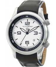 Elliot Brown 202-005-L02 Mens Canford orologio cinturino in pelle nera
