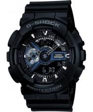 Casio GA-110-1BER Mens g-shock combi nero orologio tempo del mondo