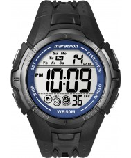 Timex T5K359 Mens orologio sportivo maratona nero