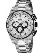 Festina F16968-1 Mens Chrono Bike orologio cronografo in acciaio silver