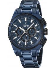 Festina F16973-1 Mens Chrono Bike orologio cronografo in acciaio blu