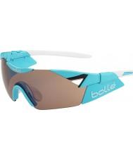 Bolle 6 ° Senso s lucido modulatore rosa blu occhiali da sole di pistola