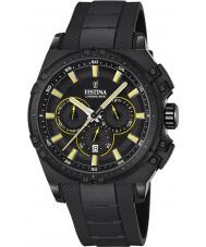 Festina F16971-3 Mens Chrono Bike orologio cronografo in caucciù nero