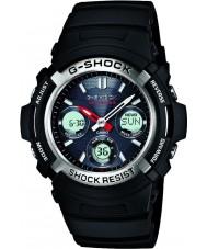 Casio AWG-M100-1AER Mens g-shock nero radio controllato a energia solare orologio sportivo