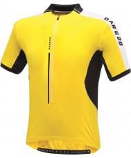 Dare2b DMT134-0QX40-XS Mens astir brillante maglia gialla T-shirt - taglia xs