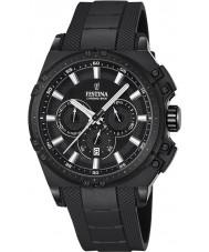 Festina F16971-1 Mens Chrono Bike orologio cronografo in caucciù nero